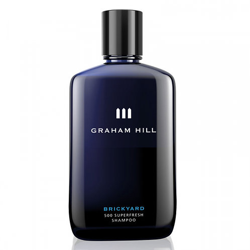 Graham Hill BRICKYARD Superfresh Shampoo 250ml