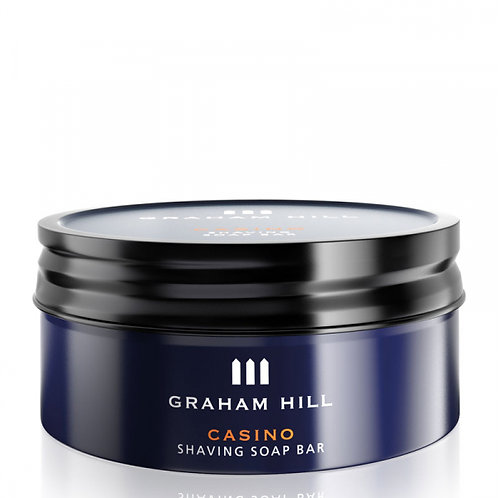 Graham Hill CASINO Shaving Soap Bar 85g