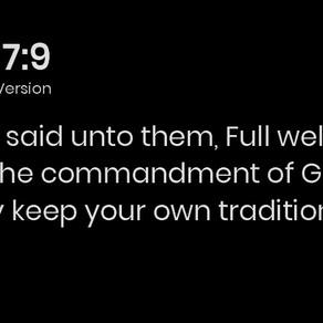 Mark 7:9