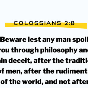 Colossians 2:8