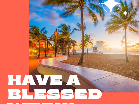 Have A Blessed Week!