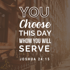 You Choose This Day