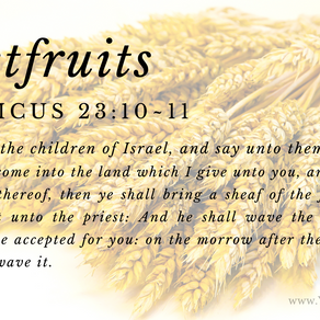 Firstfruits 2021