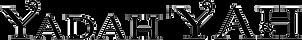 Yadah'YAH Name Logo Transparent - Black.