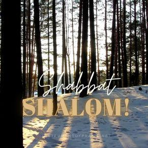 Happy Sabbath!