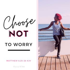 Choose Not To Worry