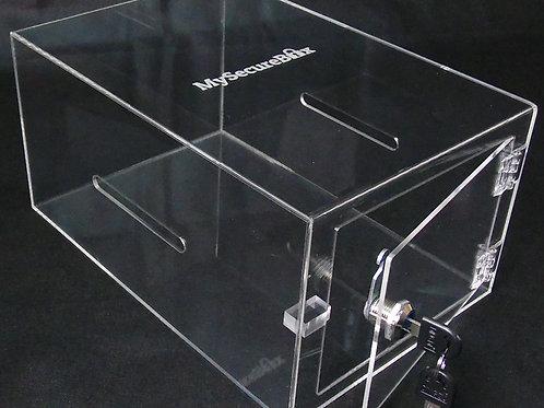 MySecureBox Large Clear