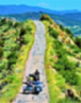 Skyline Drive Scenic View with Ural and