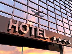 Accommodation, hotel, site selection