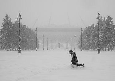 Бег. Санкт-Петербург, 2017г.