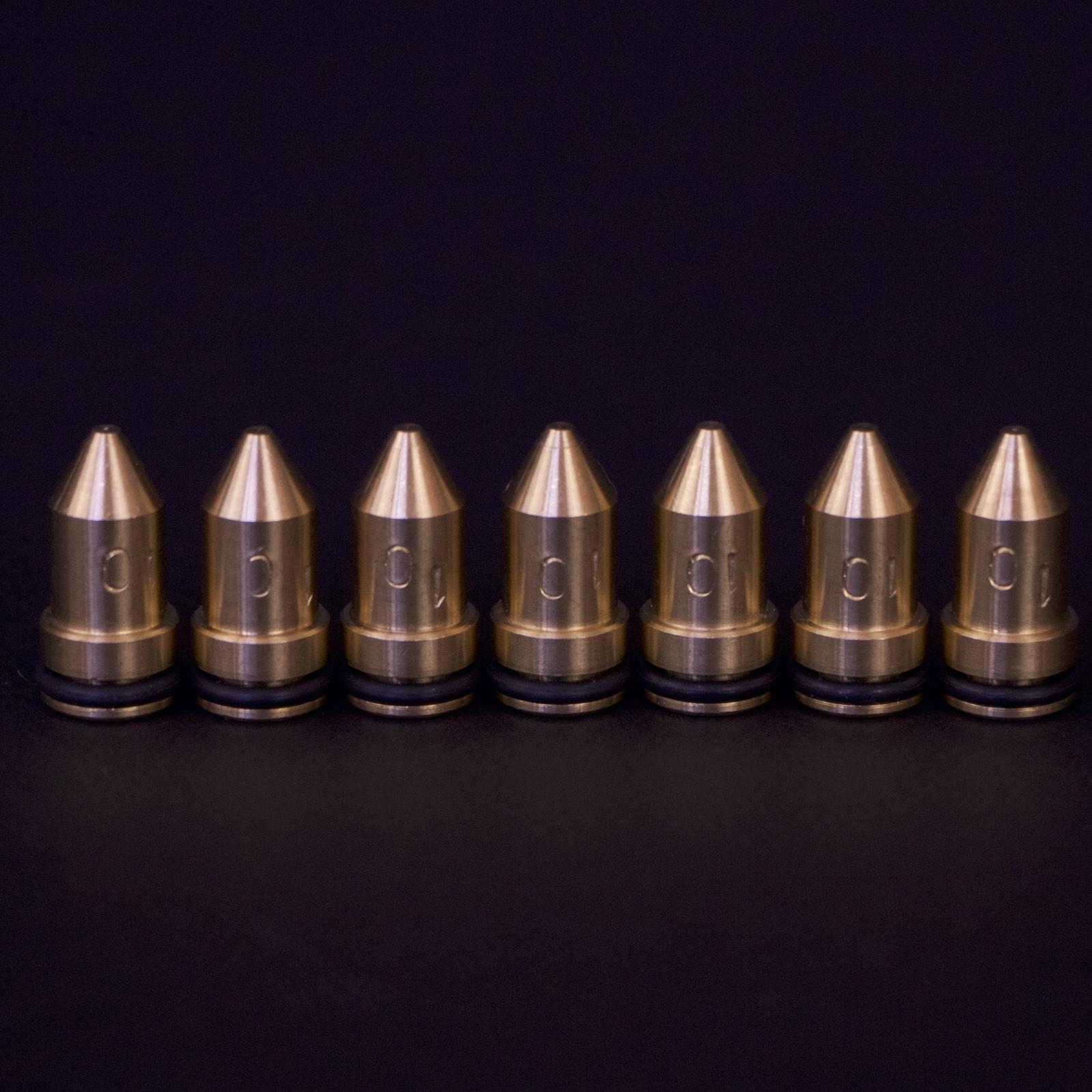 CNC brass nozzles