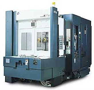 CNC Makino Horizontal Mill