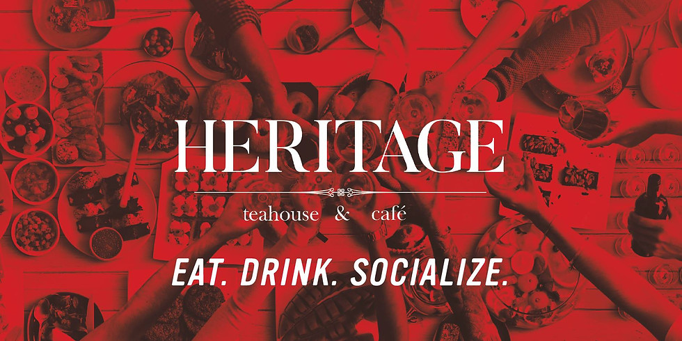 May Cash Mob: Heritage Teahhouse & Cafe