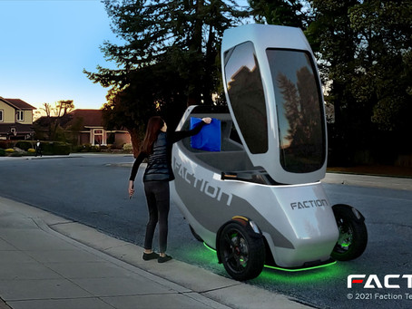 How Faction Technology, A Driverless Product for Short Trips, Will Deliver – CEO Ain McKendrick