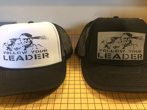 Follow Your Leader  -  trucker CAP