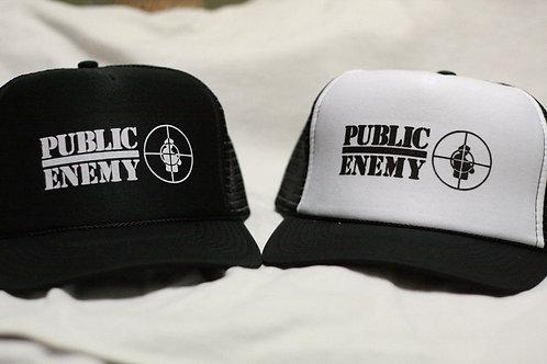 Public Enemy  -  trucker CAP