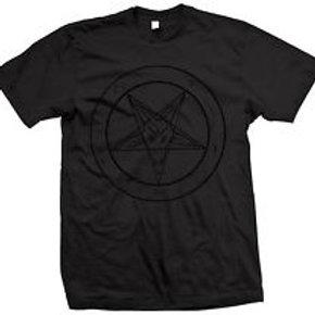 Pentagram Baphomet - short sleeve shirt
