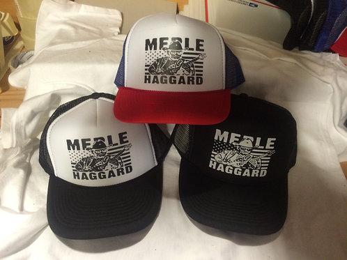 Merle Haggard-  trucker CAP
