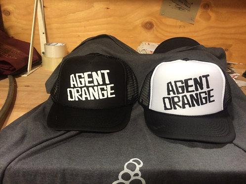 Agent Orange  -  trucker CAP