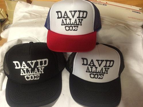 David Allen Coe-  trucker CAP