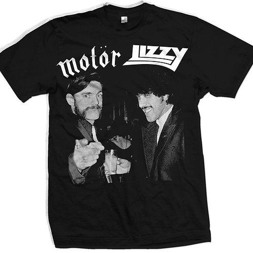 MOTOR LIZZY - short sleeve shirt  Motorhead Thin Lizzy
