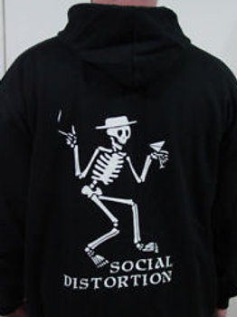 Social Distortion -  zip hoodie
