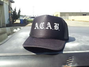 A.C.A.B. -  trucker CAP