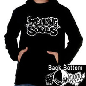 Bouncing Souls - logo pullover sweatshirt (front print only)