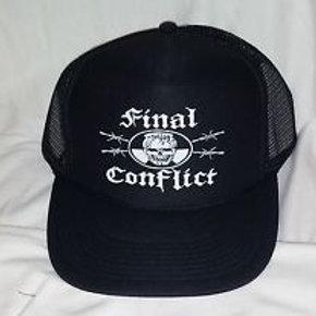 Final Conflict -  trucker CAP