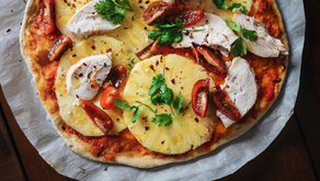 Pizza tropical sem glúten