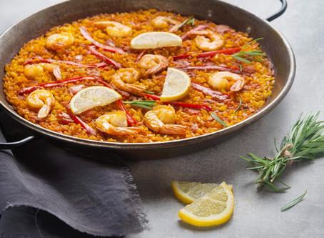 """Paella de marisco mais """"simples"""""""
