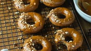 Apple pie donuts (Vegan)