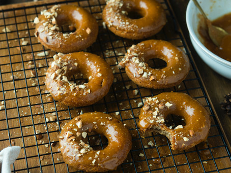 Apple pie donuts (Vegan)