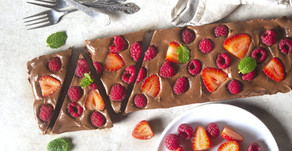Tarte de Chocolate No-Bake VEGAN