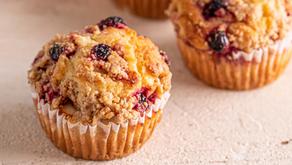 Muffins Saudáveis (para maiores de 12 meses)