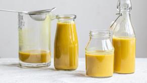Golden milk - leite dourado (vegan e sem glúten)