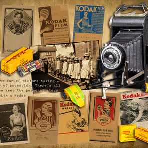 Ten Vintage Kodak Film and Print Wallets