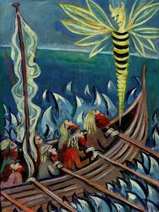 Vikings and Wasp Demon
