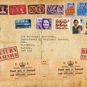 Thirteen Stamps Commemorating Mistakes