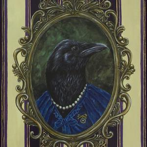 Self portrait as a raven