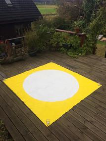 Full Moon & Yellow Saqure