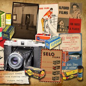 Five Vintage Film Wallets