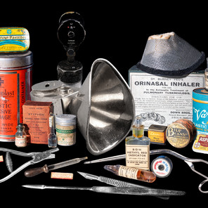 Twenty-Six Vintage Items from a Country