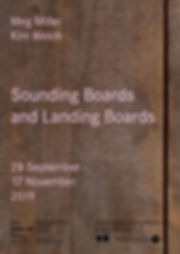 Sounding Boards and Landing Boards poste