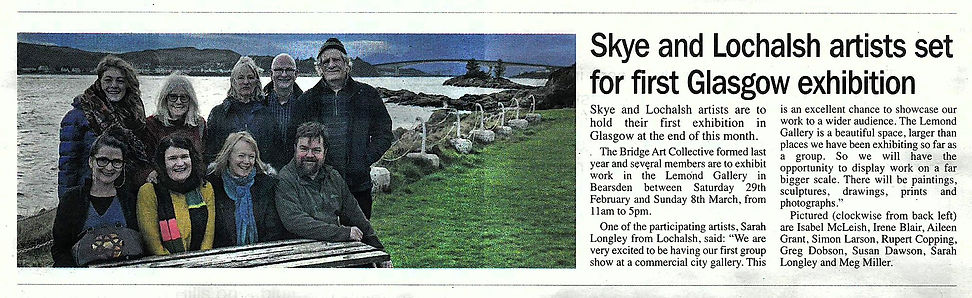 West Highland Free Press Article