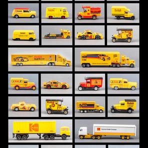 Twenty-Eight Kodak Branded Vehicles