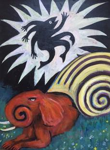 Star Snail Efflueens