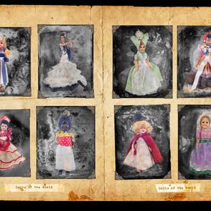 Eight Dolls Of The World