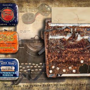 Three Typewriter Ribbon Tins
