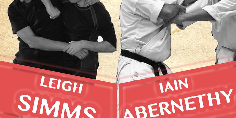 Iain Abernethy & Leigh Simms Practical Karate Seminar